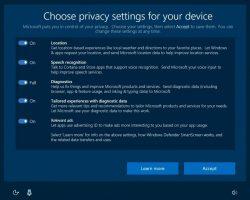 Windows 10 будет меньше следить за пользователями