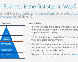 Анонсирована программа Windows Insider для бизнеса