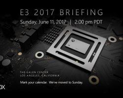 11 июня на Е3 Microsoft анонсирует проект Scorpio