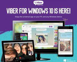 Viber прекращает разработку своего приложения на Windows 10