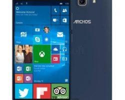 Обзор Windows 10 Mobile-смартфона Archos 50 Cesium