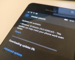 Вышла новая тестовая сборка Windows10 Mobile— 15025