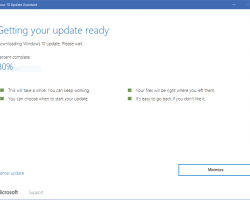 Обновление Windows 10 Creators Update доступно через Update Assistant