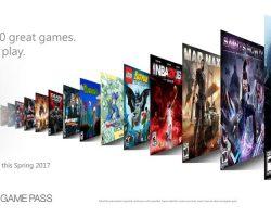 Анонсирована платная подписка Xbox Game Pass – доступ к более чем 100 играм на Xbox One и Windows 10