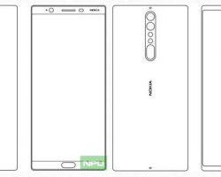 Nokia 8 и Nokia 9 – первые наброски