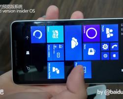 В сети появилось видео Lumia 750