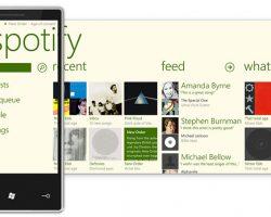 Музыкальный сервис Spotify прекращает поддержку Windows Phone