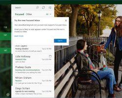 Новые функции Gmail на Windows 10 и Windows 10 Mobile