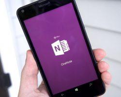OneNote перестал работать на Windows Phone 8.1