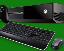 Xbox One может получить полную поддержку клавиатуры и мыши