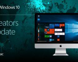 Обновление Windows 10 Creators Update добралось и до Mac