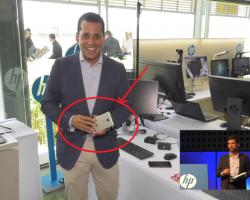 HP Elite x3 засветился в светлом корпусе