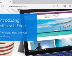 Браузер Edge не будет выпущен в качестве отдельного приложения
