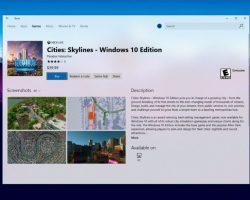 Приложение Windows Store получило новый дизайн в стиле Fluent Design