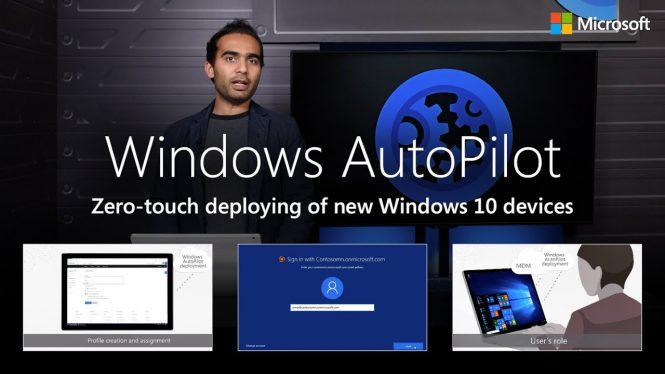 Microsoft представила новый сервис для настройки компьютеров Windows Autopilot