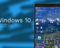 На смартфоны вышла сборка Windows 10 Mobile 15226