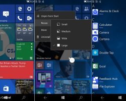 Новая информация о Composable Shell для Windows 10 Mobile