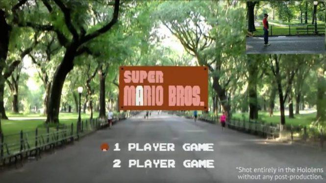 Разработчик перенёс Super Mario Bros. в действительность
