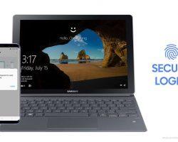 Разблокировать Windows 10 можно теперь с помощью смартфона Samsung