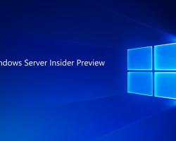 Представлена сборка Windows Server Insider Preview 16257