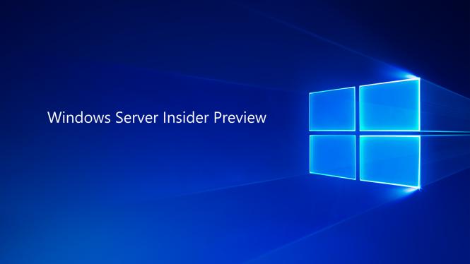 Windows Server Insider Preview