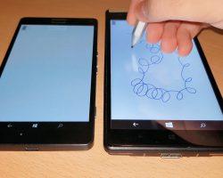 Первые образцы Lumia 950 поддерживали Surface Pen