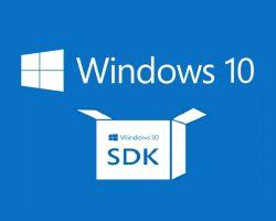 Вышла предварительная версия Windows 10 SDK Preview