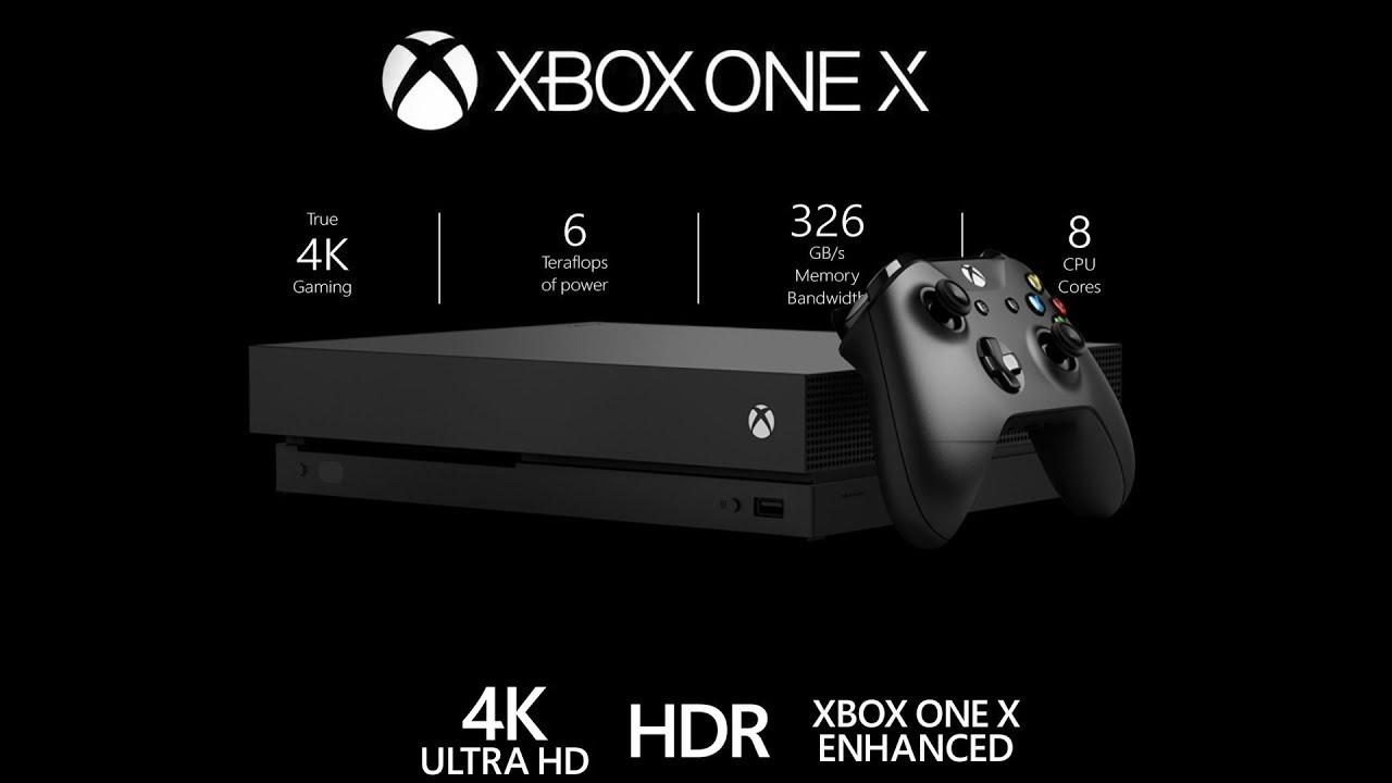 Мощнейшая консоль Xbox One X поступила напродажу