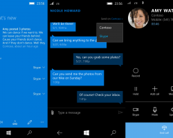 В новой версии Skype для Windows 10 Mobile решена проблема с камерой