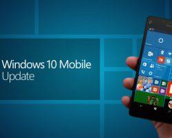 Очередной апдейт для Windows 10 Mobile