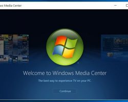 Установка Windows Media Center на Windows 10