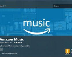 Отныне Amazon Music для Windows10 доступно в Microsoft Store