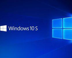 Microsoft отказалась от операционной системы Windows 10 S