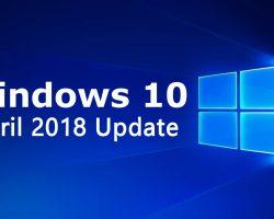 Выход очередного накопительного обновления для Windows 10 April 2018 Update