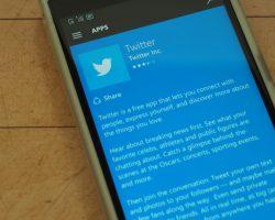 Twitter анонсировал завершение поддержки устаревших приложений для Windows Phone и Windows