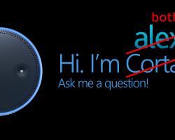 Голосовые помощники от Microsoft и Amazon смогут работать в дуэте