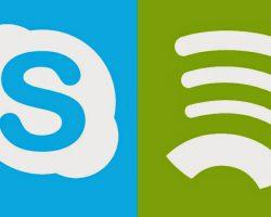 Skype получил интеграцию со Spotify