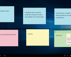 Инсайдеры Windows 10 получили приложение Sticky Notes 3.0