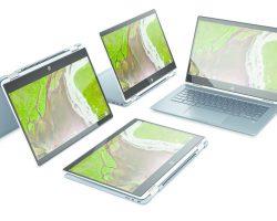 Компания HP анонсировала выход Chromebook x360 14 с Intel Core i3/i5 восьмого поколения