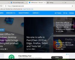 Браузер Microsoft Edge Chromium слили в Сеть