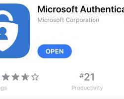 Новая версия Microsoft Authenticator не работает на старых устройствах на iOS