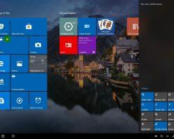 В Windows 10 появится новый планшетный режим