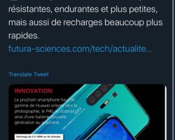 Huawei создает революционный смартфон с графеновым аккумулятором