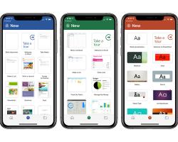 В Office на iPhone добавили новый дизайн