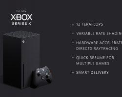 Производительность Xbox Series X составит 12 терафлопс