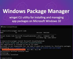 Анонсирован Windows Package Manager от Microsoft