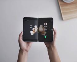 Появление Surface Duo на Android ожидают в августе