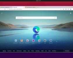 Вышла открытая бета-версия Microsoft Edge для Linux