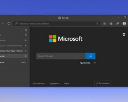 В Microsoft Edge добавят возможность вертикальной группировки вкладок