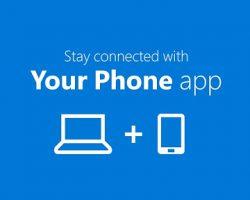 Приложение Your Phone получило новые функции